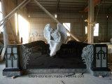 적당한 장례식 묘석 비문이 할인 기념탑에 의하여 묘지 돌을 던진다