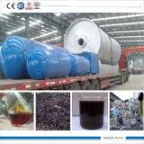 Planta de recicl plástica usada Conditon nova que começ o óleo da pirólise