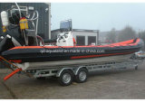 Aqualand 29FT 9m Rigid Inflatable Diving BoatかMilitary Rib Boat (RIB900)