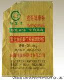 China maakte Plastic pp Geweven voor Mortier met Gekleurd in zakken doen