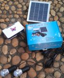 Solar-LED Lighting Kits System mit LED 1W 2W 3W Fixed Optional