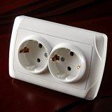 Enchufe de socket doble europeo 9102