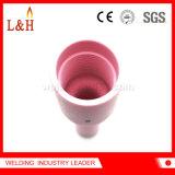 boquilla de cerámica del alúmina largo del soplete de 54n16L TIG