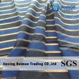 Entwurfs-Streifen-Polyester-Organza-Gewebe für Dress der Dame