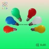 Mirada agradable de la lámpara ligera de Multicolors del festival de los bulbos LED A60 de las decoraciones del LED A19 E26/E27/B22