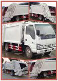 Caminhão de lixo 3 Ton Compactor Isuzu Mini Waste Truck