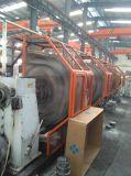 Tubo flessibile di gomma idraulico flessibile dell'olio ad alta pressione a spirale SAE100r1