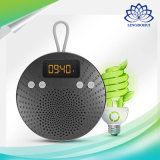 LCD表示の目覚し時計TF FMの無線の補助の防水シャワーのBluetoothのスピーカー
