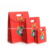 Saco de papel dos doces, saco de papel para crianças, empacotamento do presente do presente