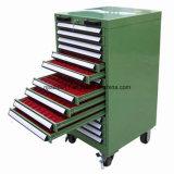 Gabinete de ferramenta de aço com gaveta e suporte