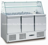 Refrigerador de la preparación de Saladette con Ce