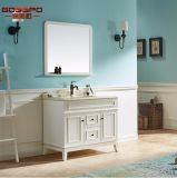 [إيوروبن] أسلوب صورة زيتيّة أبيض خشبيّة غرفة حمّام تفاهة خزانة ([غسب9-005])