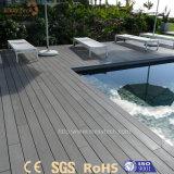 Madera plástica impermeable modificada para requisitos particulares alta calidad WPC para el suelo del Decking
