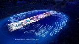 Visualización de LED P4 con la alta definición para a todo color de interior (256*128m m)