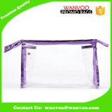 Concevoir votre propre sac cosmétique de lavage de PVC d'espace libre de type pour la course