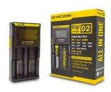 2016 горячих продавая заряжателей Nitecore D2 новых продуктов на батарея 18650 Nitecore
