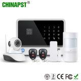 Sistema de alarma sin hilos de WiFi G/M de la seguridad elegante más caliente (PST-G90B)