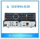 Combo Receiver Zgemma H. 2h met dvb-S2 + dvb-T2/C Hybride Tuner