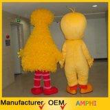 Traje amarillo grande de la felpa del traje de la mascota del pájaro y del pájaro de Tweety