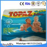 Couche-culotte remplaçable de bébé des prix bon marché de Topza pour le Mali
