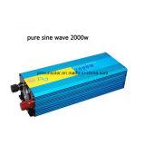24V 2000W 스캐너와 사진기를 위한 순수한 사인 파동 변환장치