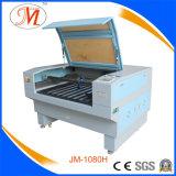 Machine de découpe laser CO2 pour la coupe de broderie textile (JM-1080H)