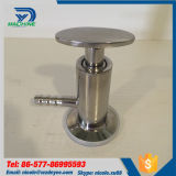 衛生ステンレス鋼Ss304 Ss316LビールTriclampのサンプリング弁