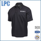 Chemise de polo de garde de sécurité de travail de qualité de coton d'OEM