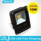 luz de inundación impermeable verde de la lámpara de proyección del proyector 10W LED