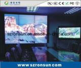 狭い斜面47inch 55inchは接続LEDのビデオ壁スクリーンを細くする