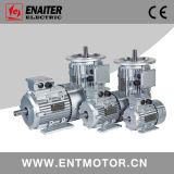 3段階の電気モーターを収納するAlu