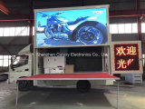 풀 컬러 트럭 광고를 위한 옥외 이동할 수 있는 디지털 LED 게시판