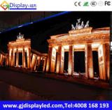 F schreiben im Freienmiete LED-Bildschirmanzeige für Erscheinen