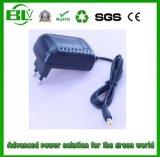 adaptador esperto de 100V-240V AC/DC para a bateria de Recharger sobre o carregador de bateria 21V1000mA