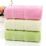 Cara promocional del hotel/caseras del algodón/mano/toalla de baño