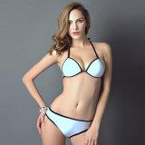 Heißer Verkaufs-unterschiedliche Farben-Bikini-Badebekleidung zwei Stücke Biknis Badebekleidungs-