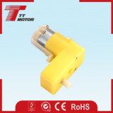 Mini motor plástico de la C.C. del imán permanente del engranaje para las robustezas