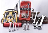 Professioneller flexibler Kombinations-Schaltklinken-Schlüssel
