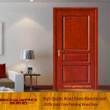 Eenvoudige Binnenlandse MDF Desing Houten Deur (GSP6-010)