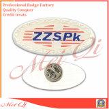 Divisa modificada para requisitos particulares fábrica del Pin de la solapa del metal de la alta calidad con cualquie insignia para el regalo del recuerdo