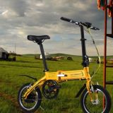 アルミニウムフレーム、LGのリチウム電池が付いているOnebotのペダルのAsssistedの電気バイク