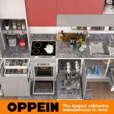 armadio da cucina di standard di larghezza di 360cm con rivestimento della lacca (OP17-L02)