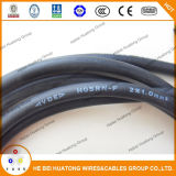 Cable de goma flexible H03rn-F del Ce 3core