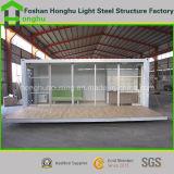 Casa móvil portable del envase del marco de estructura de acero
