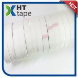 Le côté simple a enduit la bande adhésive de tissu en verre d'isolation de silicones