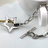 Armband van de In het groot van de Ster van de fabriek van de Manier de Juwelen Gepersonaliseerde Mensen van het Roestvrij staal