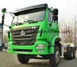 Camion del trattore del motore 4*2 Homan dell'uomo di Sinotruk