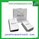 Saco do presente do papel do saco de vestuário do saco do papel de embalagem