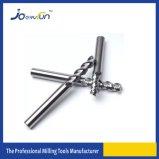 Moinho de extremidade contínuo das flautas do carboneto 3 para a liga de Alumium