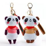 Mini juguete creativo relleno modificado para requisitos particulares de Keychain de la felpa para la promoción